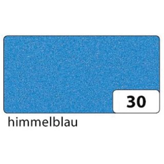 Moosgummi 2mm himmelblau